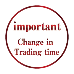Changes in Trading hours