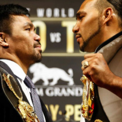Let's support Manny Pacquiao vs Keith Thurman Match!